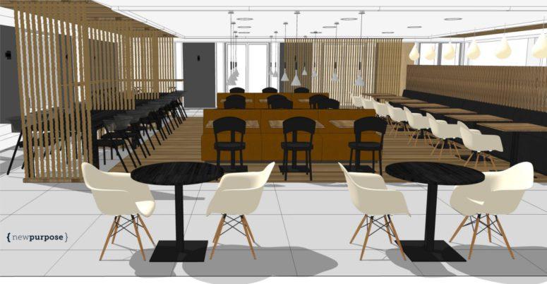 Kantine bedrijfsrestaurant new purpose - Decoratie ontwerp kantoor ontwerp ...