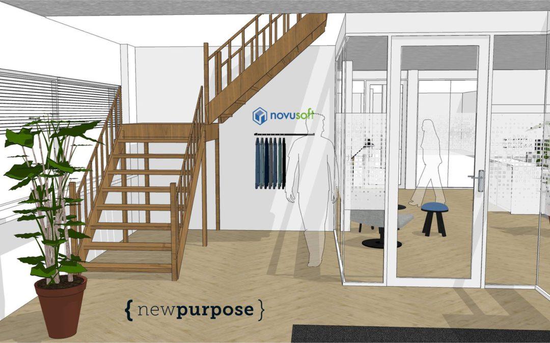 Opdracht Novusoft: kantoorinterieur ontwerpen