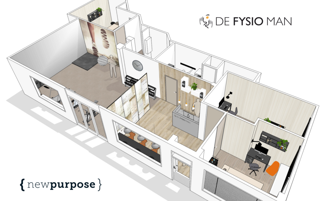 New Purpose ontwerpt en bouwt De Fysio Man