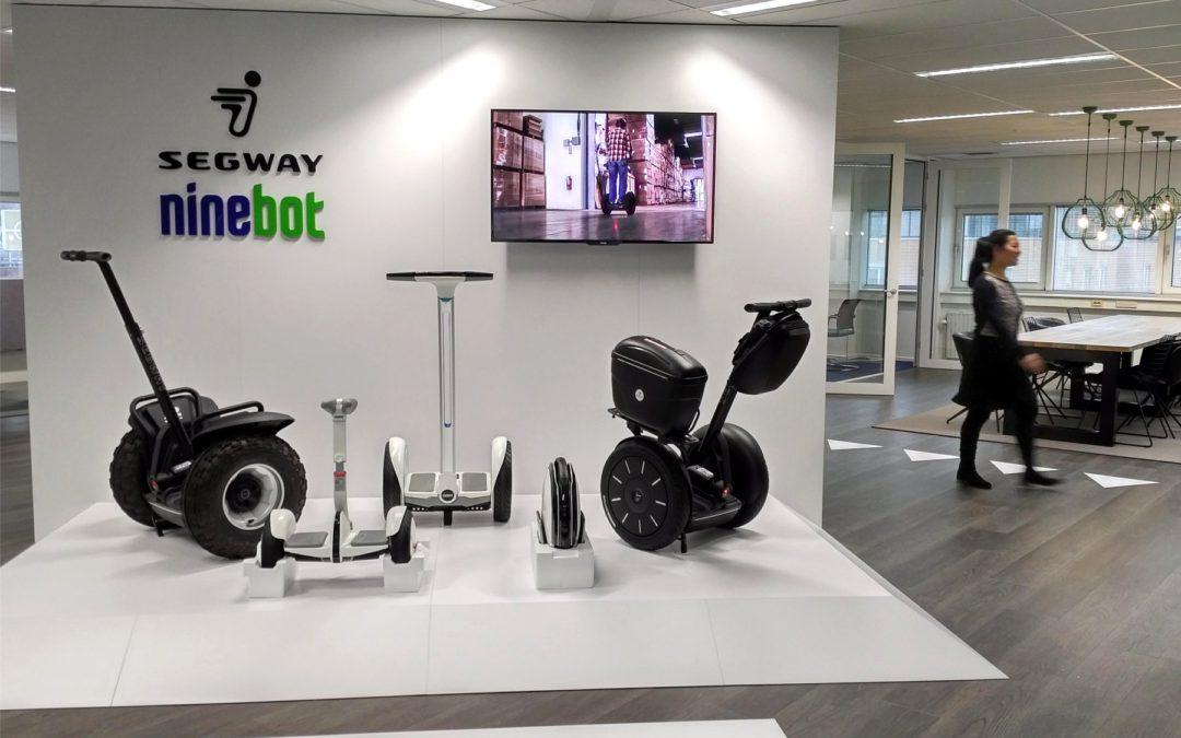 Segway opent nieuw Europees kantoor