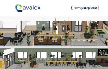 Nieuwe kantine voor Avalex!