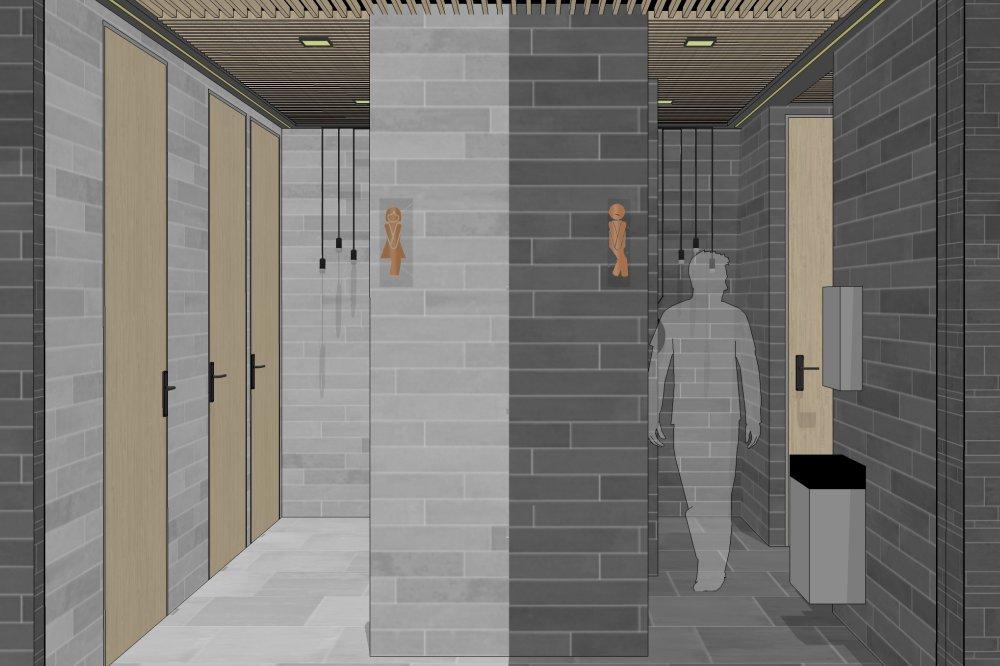 Nieuwe WC's voor hoofdkantoor Geberit